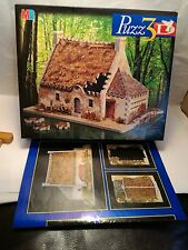 Puzz 3D Breton House 264 Piece Puzzle Jigsaw by MB Games Hasbro Wrebbit
