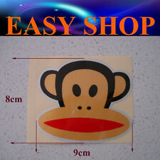 Funny Paul Frank Sticker Decal Car Ute Caravan Emblem Badge Wall Fridge Bike ATV