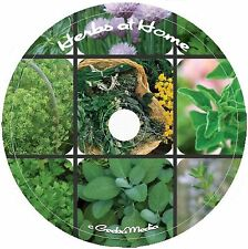 Growing Herbs and Spices 10 Classic Books CD remedies drying cooking tea garden