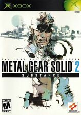 Metal Gear Solid 2: Substance - Original Xbox Game