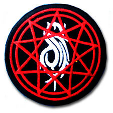 Slipknot Patch Iron on Music American Heavy Metal Band Badge Sewing Rock Punk