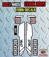 Rock Shox Lyrik 2015 FORK Adesivi Decalcomanie Grafiche mountain bike Down Hill MTB