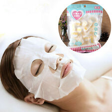 30Pcs Natural Cotton Compressed Facial Face Mask Paper Dry Skin Care Masque