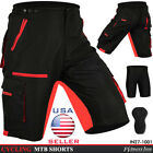 MTB Cycling Shorts Off Road Cycle CoolMax Padded Liner Shorts Size M, L, XL