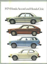 1979 Honda Accord and Civic Sales Brochure