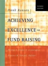 Hank Rosso's Achieving Excellence in Fund Raising by