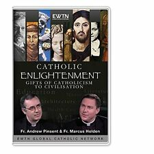 CATHOLIC ENLIGHTENMENT - GIFTS OF CATHOLICISM TO CIVILIZATION:AN EWTN 2-DISC DVD