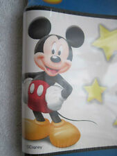 Disney's Mickey Mouse Stars 5 Yards Prepasted Wallpaper Border Imperial Canada