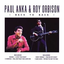 Paul Anka Roy Orbison.Back to Back (CD 2009) New and Sealed 5034504267428