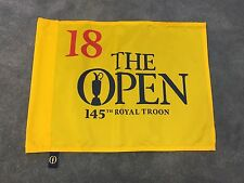 2016 OFFICIAL BRITISH OPEN Championship Golf Pin FLAG ROYAL TROON STENSON WINS