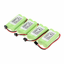 4pcs 1400mAh 2.4v Home Use Cordless Phone Battery For Uniden BT-1007 BT1007 Set