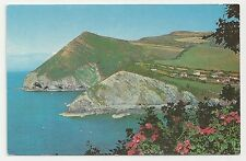 Postcard, Jarrold & Sons, The Great and Little Hangman, Combe Martin, Devon