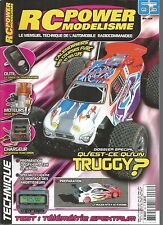 RC POWER MODELISME N°63 TRUGGY / SONDE DE TEMPERATURE / NEWS R8 / GPX4 PRO T2M