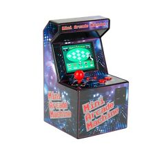 Desktop Mini Arcade Machine Retro 80s games console pacman space invaders