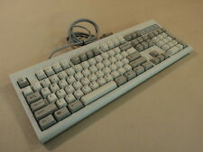Chicony Deluxe Computer Keyboard 5 Pin DIN Light Gray Clicky KBD-WIN95