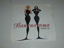 "BANANARAMA - Movin' On - 1992 UK 2-track 7"" vinyl single"