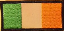 MOTORCYCLE PATCH - IRELAND FLAG PATCH - IRISH VEST PATCH - SAINTS PATRICKS DAY