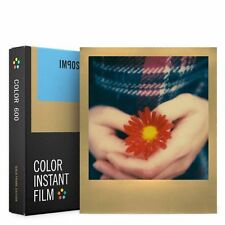Impossible 600 Color Film with Gold Frame for Polaroid 600 Type Cameras