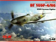 MESSERSCHMITT Bf 109 F-4 /R6 (LUFTWAFFE 1/JG52 MARKINGS) #107  1/48 ICM