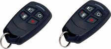 2 Honeywell Ademco 5834-4 Four-Button Wireless Key Remotes