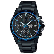 Brand New Casio Edifice EFR-526BK-1A2 Chronograph Display Watch