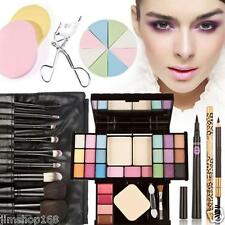 Maquillaje Set Sombra De Ojos Base Colorete Polvo Brillo De Labios