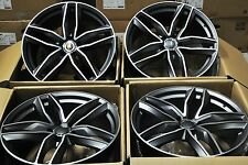 "18"" RS6 AVANT STYLE WHEELS RIMS FITS AUDI A3 A4 A6 A8 S3 S4 S6 Q3 TT GOLF 1196"