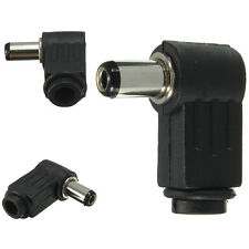 2.5mm x 5.5mm Male Plug 90° Right Angle L Jack DC Power Tip Connector Adapter