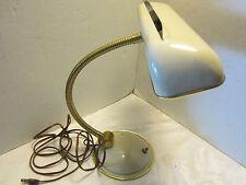 MCM Star Table Lamp Light goose neck Cannon 1950's 60's retro  vintage