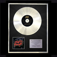 DAFT PUNK HOMEWORK CD PLATINUM DISC LP FREE P+P!