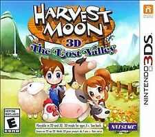 Harvest Moon 3D: The Lost Valley *Brand New* (Nintendo 3DS, 2014)