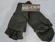 Mil-Com Shooters Mitts Green One Size Fits All Fishing Hunting Gloves