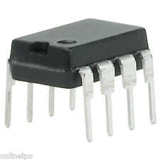 5 Pc LM741 OP-Amp IC's Operational Amplifiers for DIY Kit,Project Free IC Base