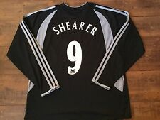 2003 2004 Newcastle United Shearer Away L/s Football Shirt Adults XL Top Jersey