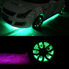10x 15 LED 30CM for Car Motors Truck Flexible Strip Light green decor light