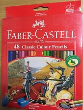 *HOT NEW FABER CASTELL 48 Classic Color Pencils Free Shipping With Tracking No.