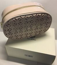 NEW TORY BURCH LIMITED EDITION BLUSH LACED MAKEUP BAG COSMETIC CASE