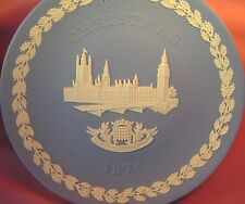 WEDGWOOD 1974 CHRISTMAS PLATE THE HOUSES OF PARLIAMENT BOXED