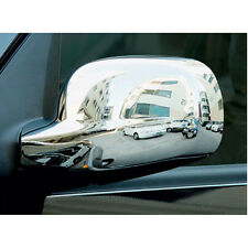 Chrome Side Mirror Full Cover 2p For 2001 - 2010 Ssangyong Rexton