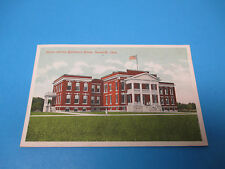 Huron County Childrens Home Norwalk Ohio Postmarked Vintage Color Postcard PC30