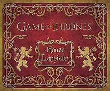 Game of Thrones Lannister Deluxe Stationary Kit: House Lannister Deluxe Statione