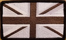 UK UNITED KINGDOM Iron-On Patch The Union Jack Emblem Black Border Version I