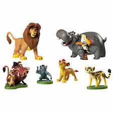 Disney Store The Lion King Lion Guard Figure Playset Simba Kion Timon Pumbaa