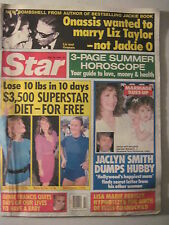 Star Magazine 5-30-1989. Jaclyn Smith! Days Of Our Lives- Genie Francis!