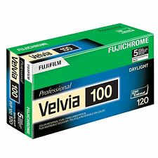 Fuji RVP 120 Fujichrome Velvia 100 Professional Color Slide Film 5 Pack 16326107