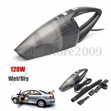 120W Portable Car Vehicle Caravan Handheld Auto Vacuum Dirt Cleaner Wet &Dry 12V