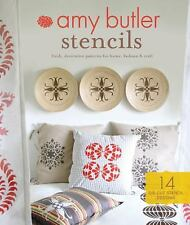Chronicle Books Amy Butler Stencils: Fresh, Decorative Patterns for Home, Fashio