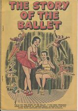 THE STORY OF BALLET 1954 RARE GIVEAWAY PROMO PROMOTIONAL COMIC VFNM SELVA & SONS