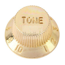 Musiclily Gold 2Pcs Tone & 1Pc Volume Speed Control Knobs Set For Strat Guitar