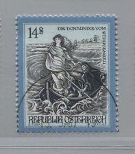 Austria-austria 2231 decir y leyendas: la donaunixe del Strudengau Vandersanden.